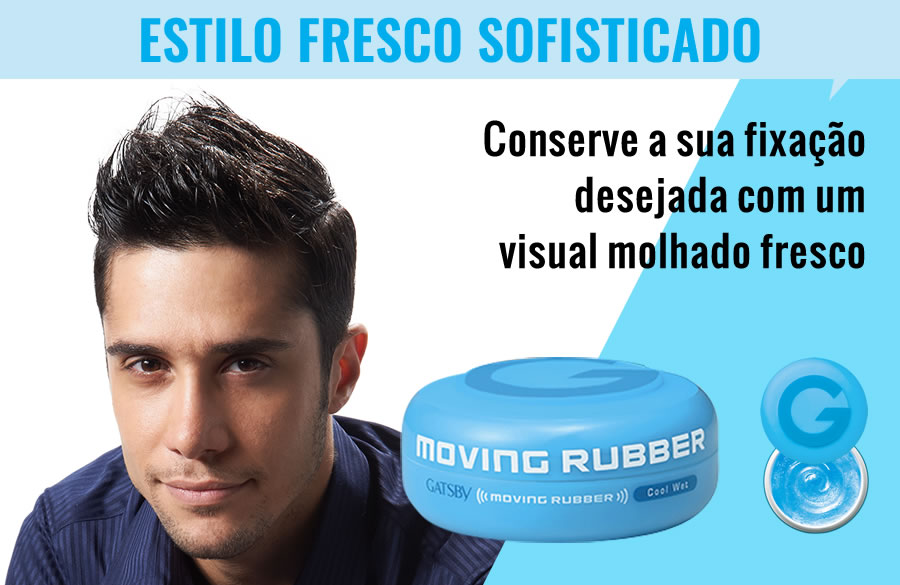 MOVING RUBBER COOL WET